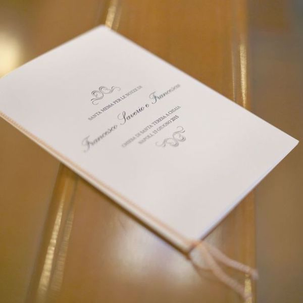 Immagine per la categoria Il libretto della cerimonia